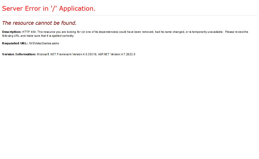 XML ME Video Games Finder API
