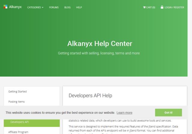 Alkanyx API