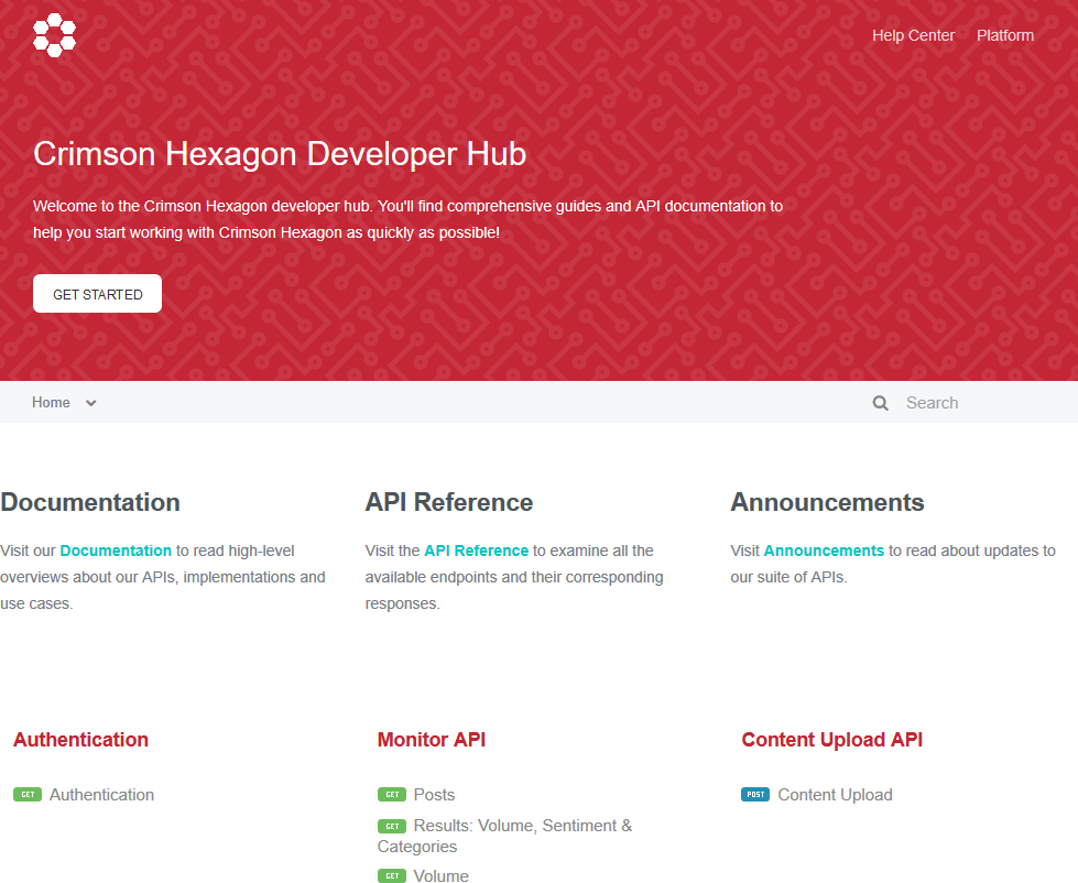 Crimson Hexagon API