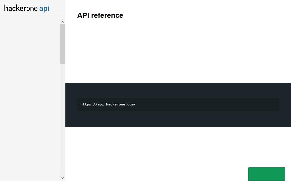 HackerOne API