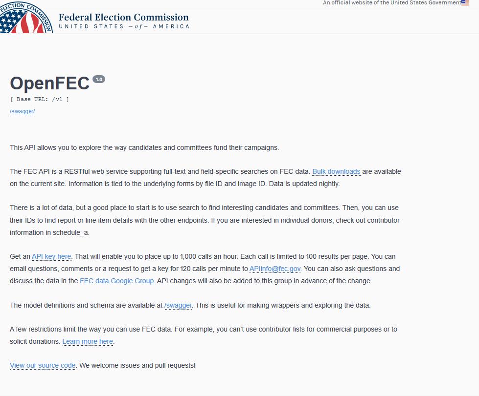 OpenFEC API
