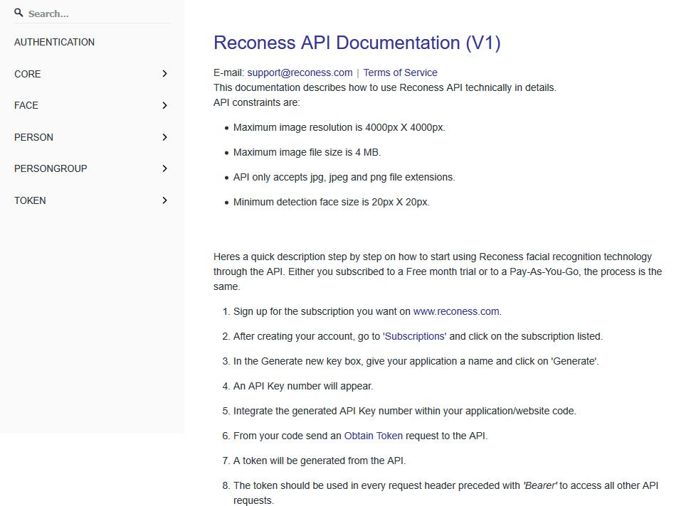 Reconess API