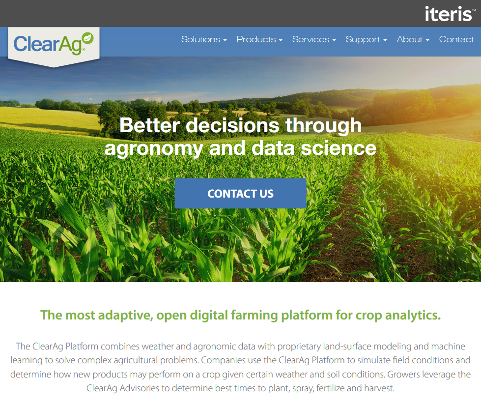 Iteris ClearAg Soil Condition API