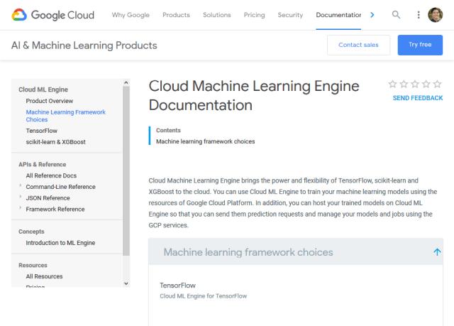 Google Cloud Machine Learning API