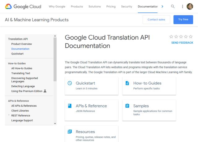 Google Translate Api Overview