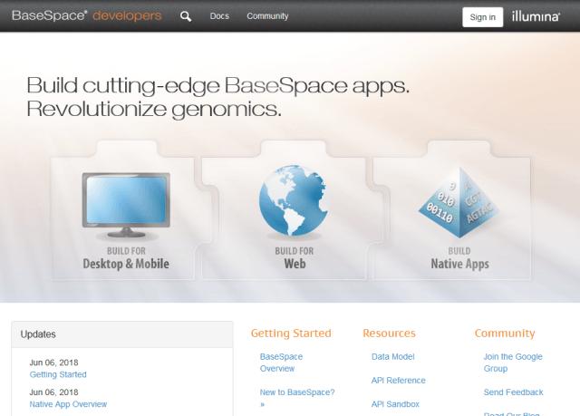 Illumina Basespace API