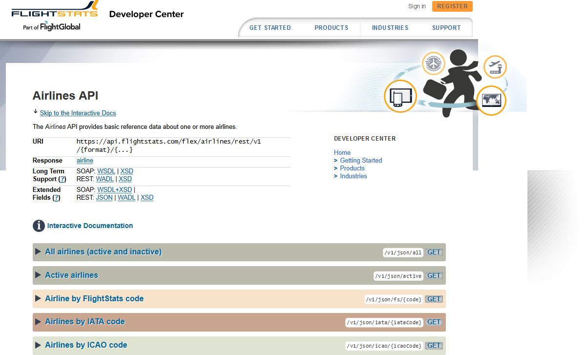 FlightStats Airlines API