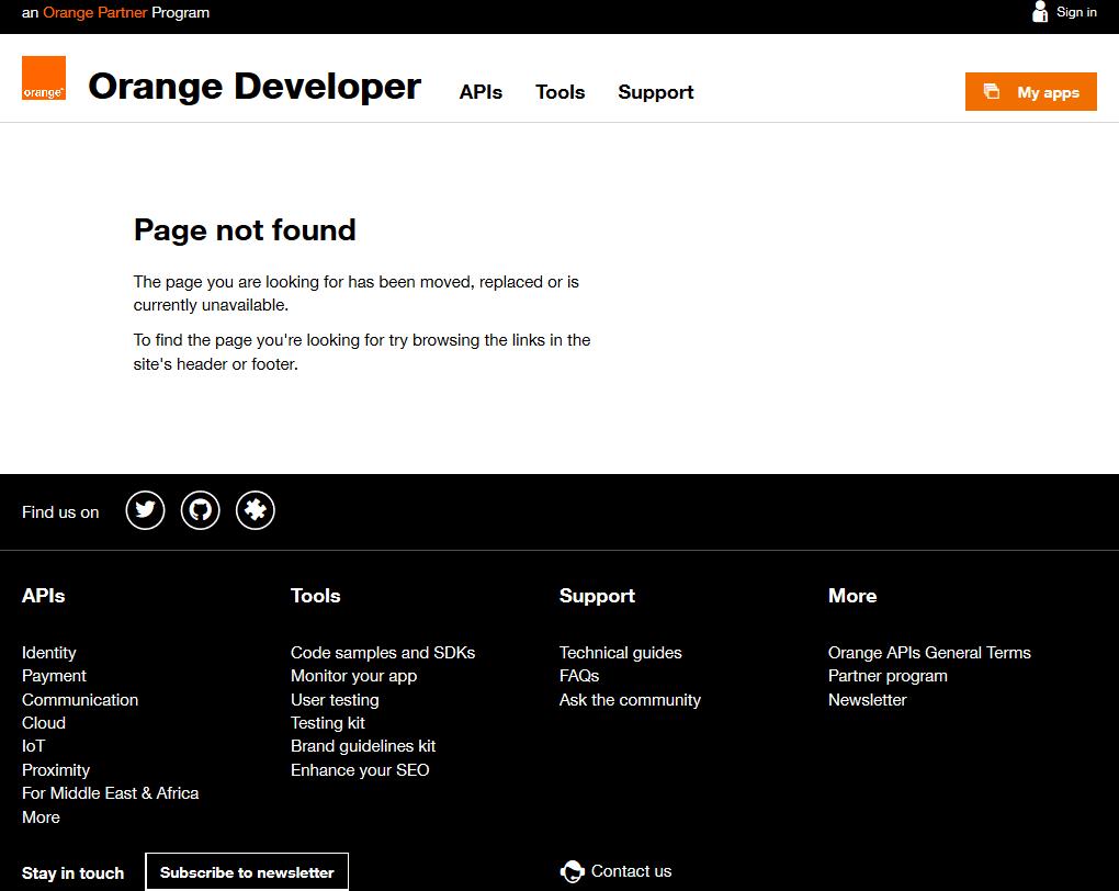 Orange M2M API