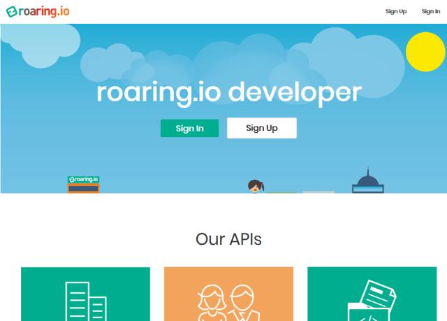 RoaringSignatory API