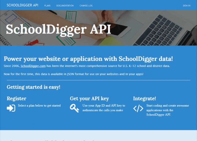 Schooldigger API