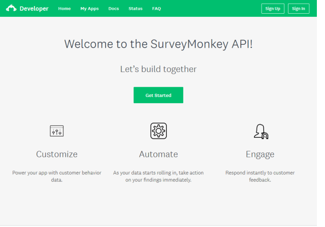 Surveymonkey API