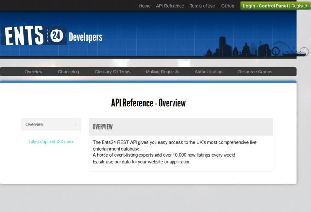 Ents24 API