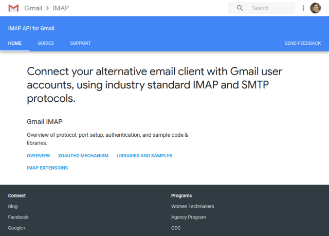Google Gmail Oauth API