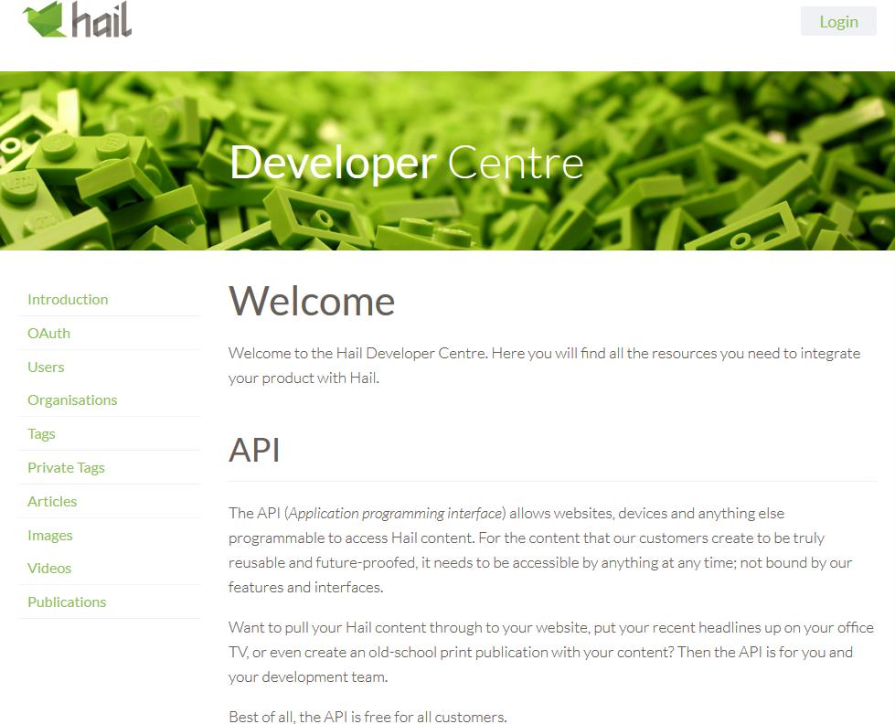 Hail API