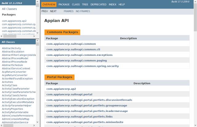 Appian API