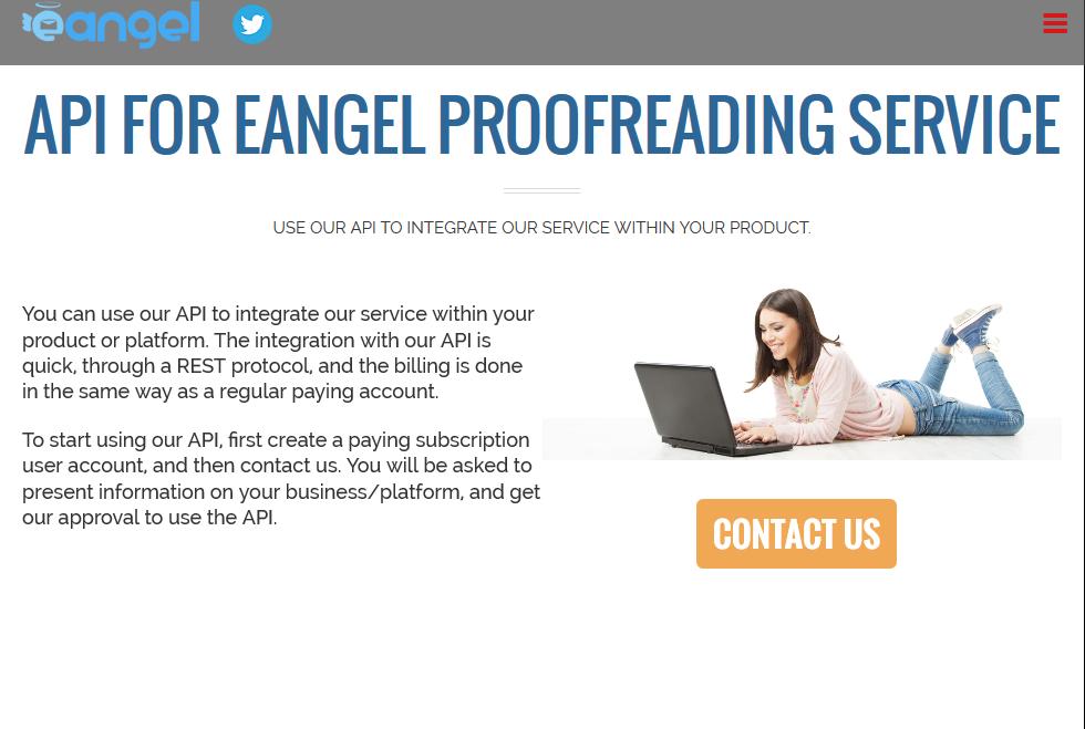 eAngel Human Proofreading API