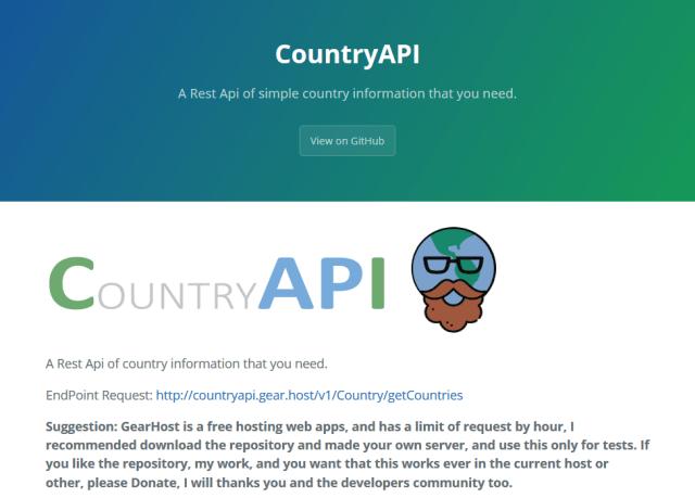 Country API
