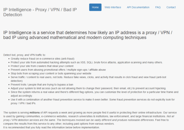 Getintel Ip Intelligence API