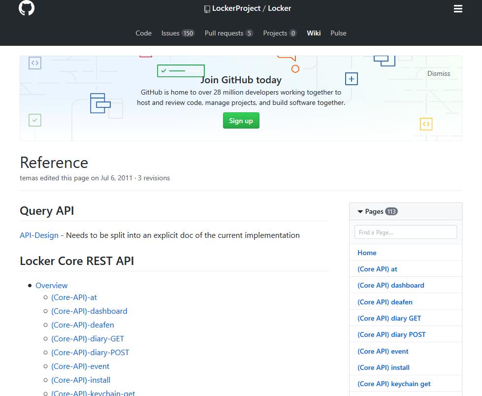 Locker Project API