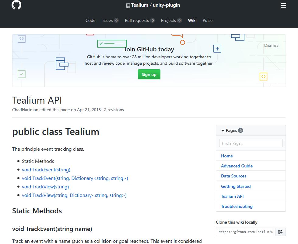 Tealium API