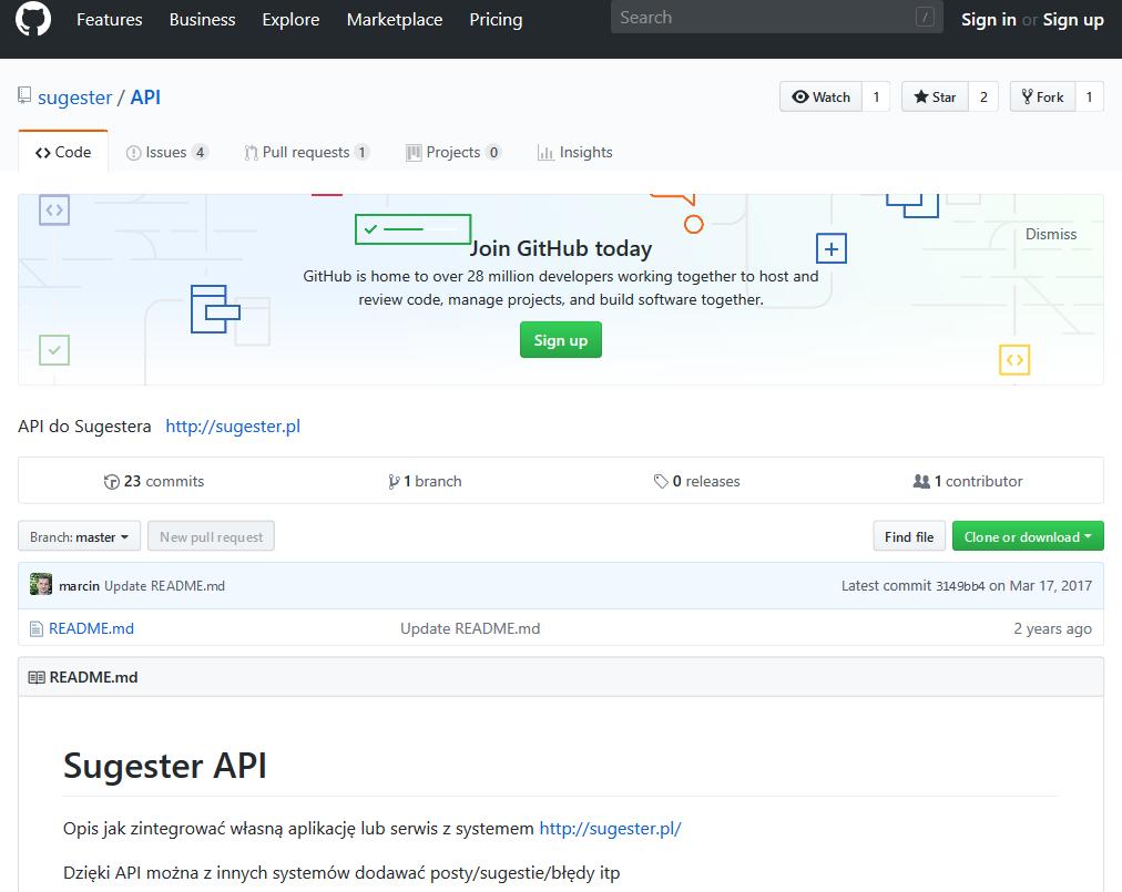 Sugester API