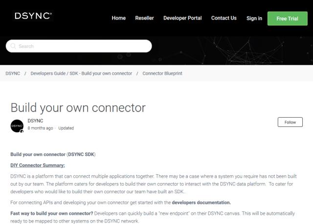Dsync API