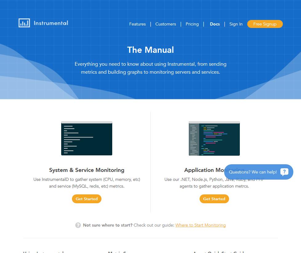 Instrumental API