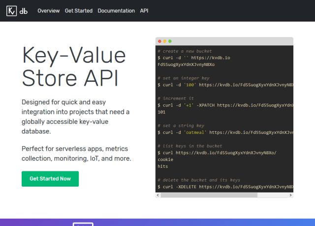 Kvdbio API
