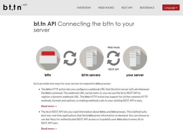 Bttn API