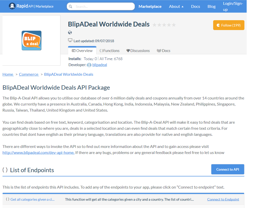blip a deal api