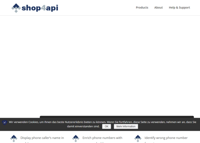 Shop4Api Phone Reverse Search API