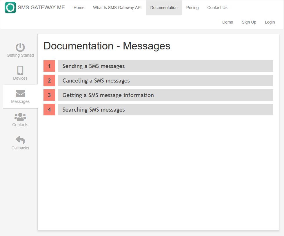 SMSGateway.me API