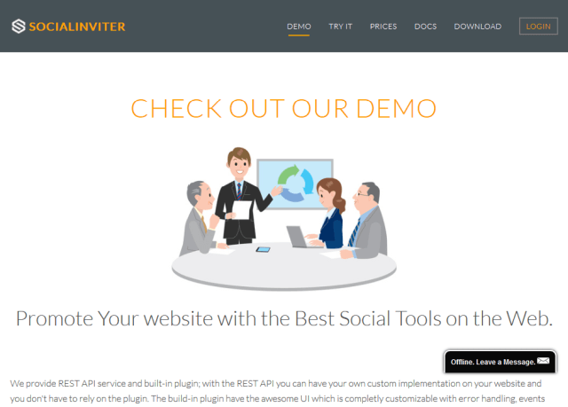 Socialinviter Contact Importer API