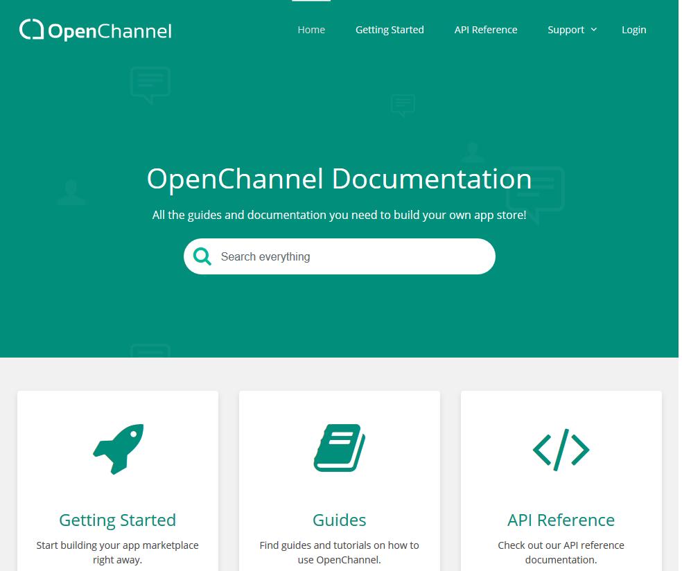 OpenChannel API