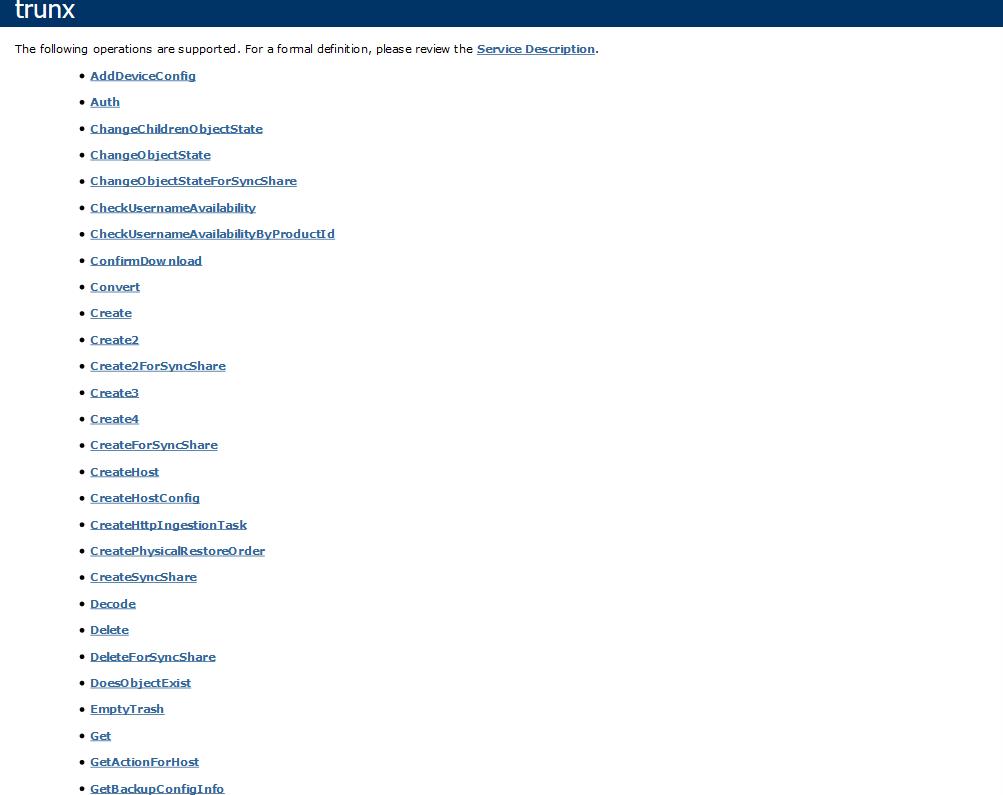 ElephantDrive API