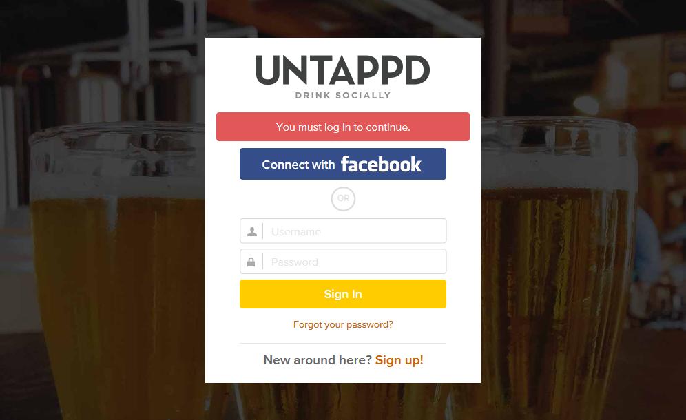Untappd API