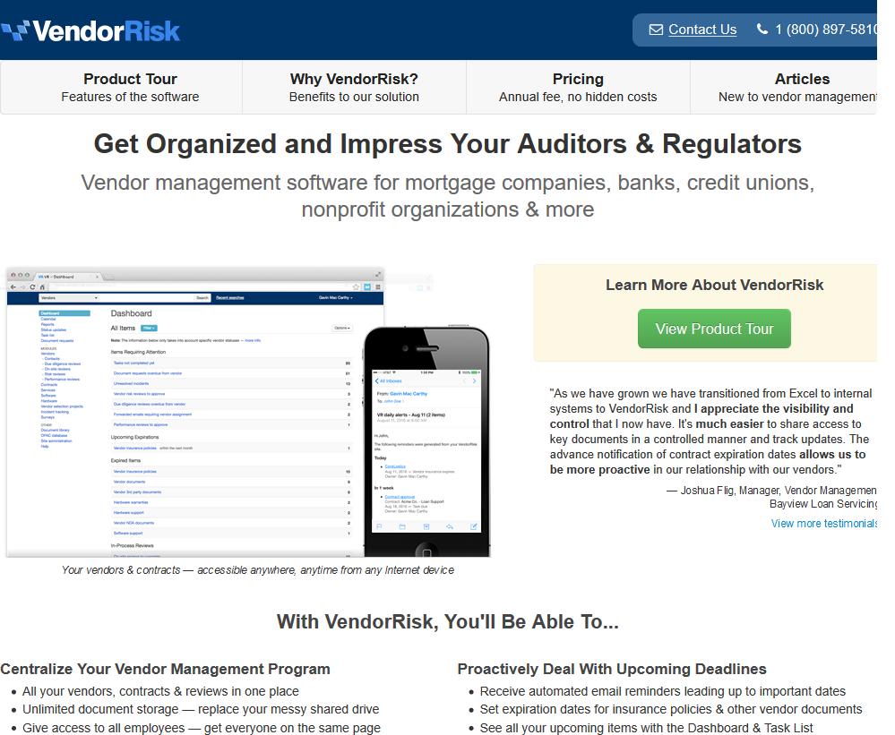VendorRisk API
