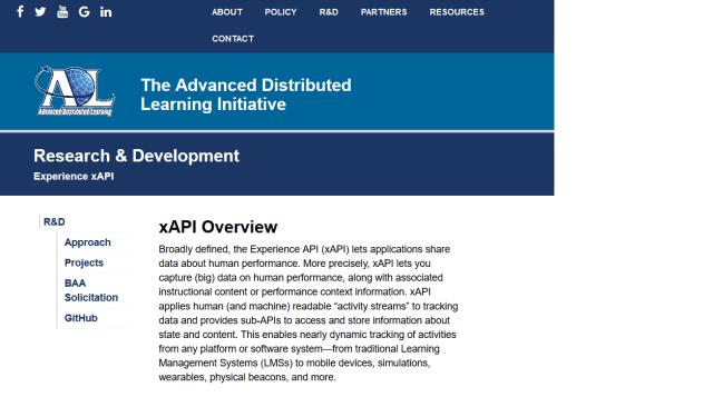 Adl Experience Xapi API