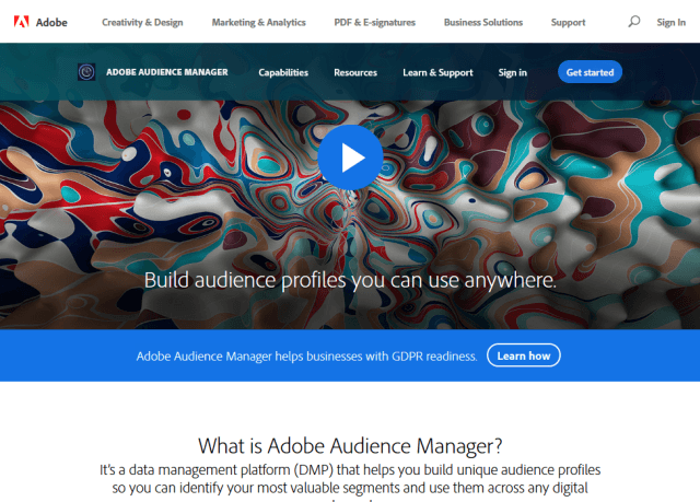 Adobe Audience Manager API