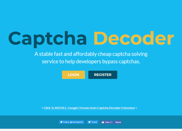 Captcha Decoder API