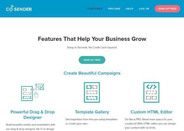 Cosender API