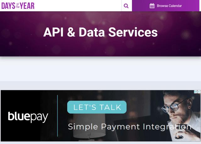 Days Year API