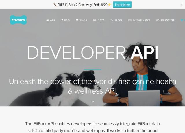 Fitbark API