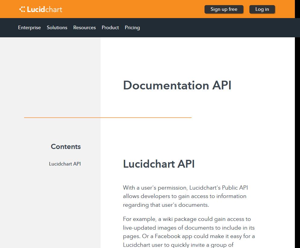 LucidChart API