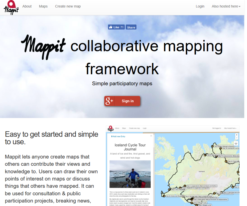 Mappit Geographical Book Search API
