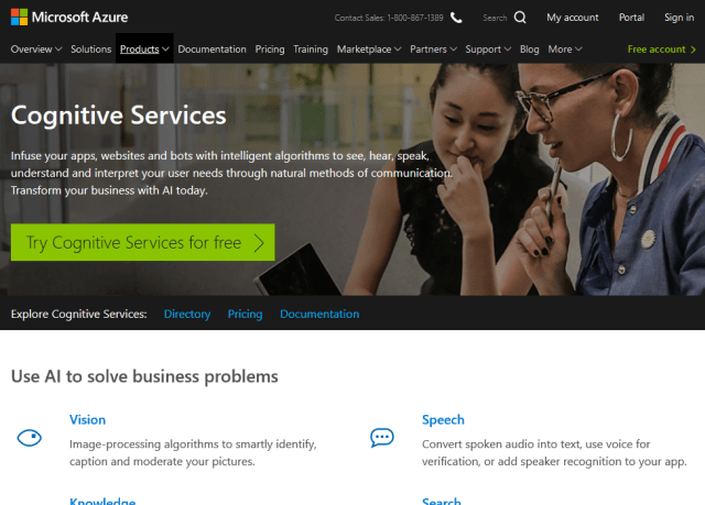 Microsoft Cognitive Services Entity Linking Intelligence Service API