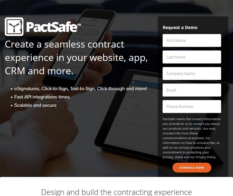 PactSafe eSignature API