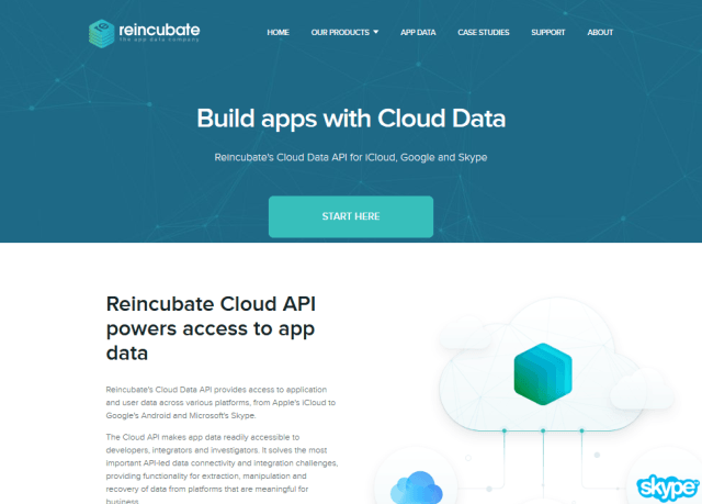 Reincubate Cloud Data API