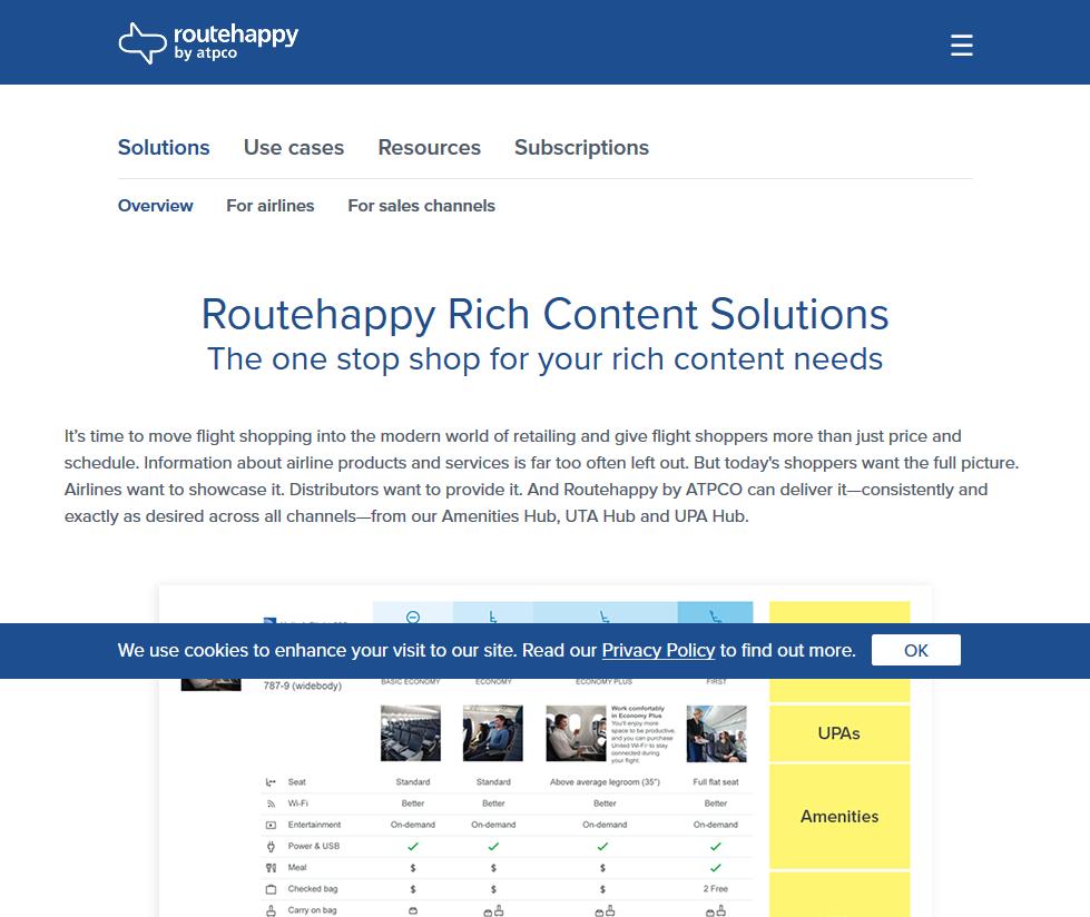 Routehappy Scores & Happiness Factors API