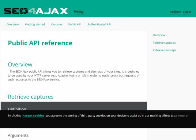 Seo4Ajax Public API